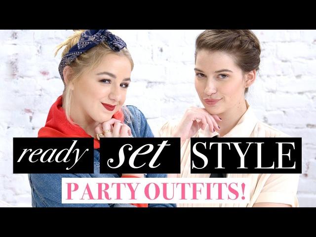 PARTY OUTFIT CHALLENGE?! w/ Chloe Lukasiak Marissa Rachel!