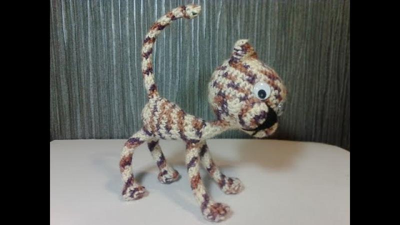 Забавные котята, ч.2. Вязание игрушек. Амигуруми