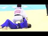 Udaka Nae's Osoto Gari Technique Judo