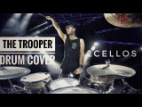 2CELLOS - The Trooper Overture Live at Arena di Verona - DRUM CAM - Dusan Kranjc