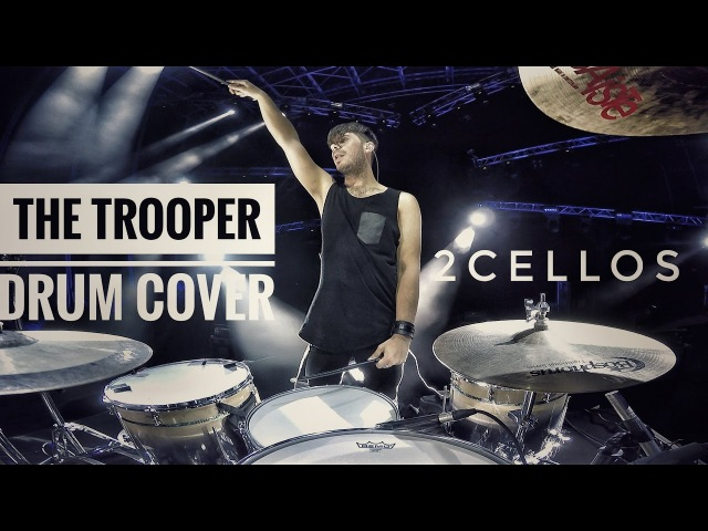 2CELLOS The Trooper Overture Live at Arena di Verona DRUM CAM Dusan Kranjc
