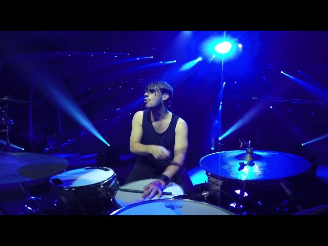 2CELLOS - Smells Like Teen Spirit [Live at Arena di Verona] - DRUM CAM - Dusan Kranjc