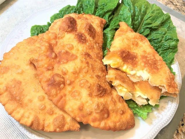ЧЕБУРЕКИ С СЫРОМ Очень вкусно Простой рецепт Pies With Cheese смотреть онлайн без регистрации