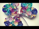 DIY Crafts - How to make a Basic Paper Quilling (Part 2) - Origami Quilling ♥