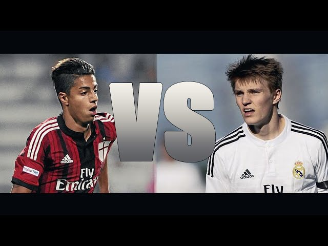 Martin Ødegaard vs Hachim Mastour - Ultimate Talent's Battle | 2015 HD