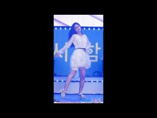 170818 러블리즈 지수 직캠 - 안녕 Lovelyz Jisoo fancam - Hi (전국해양스포츠제전) by Spinel