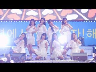 170818 러블리즈 (Lovelyz) 'Ah-Choo (아츄)' 4K 직캠 @보령 해양스포츠제전 4K Fancam by -wA-