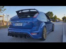 Ford Focus RS Exhaust Sound Acceleration Compilation