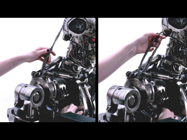 Sideshow's life-size Endoskeleton T-800 assembly video