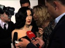 Dita Von Teese Talks Streaker from Met Gala
