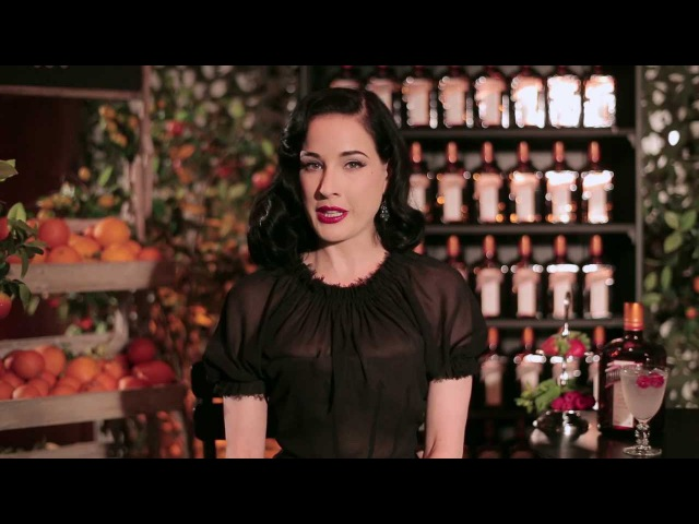 Dita Von Teese is now Cointreau's online spokesperson!
