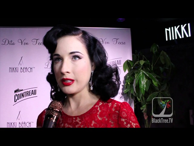 DITA VON TEESE AND COINTREAU AT THE 66th CANNES FILM FESTIVAL
