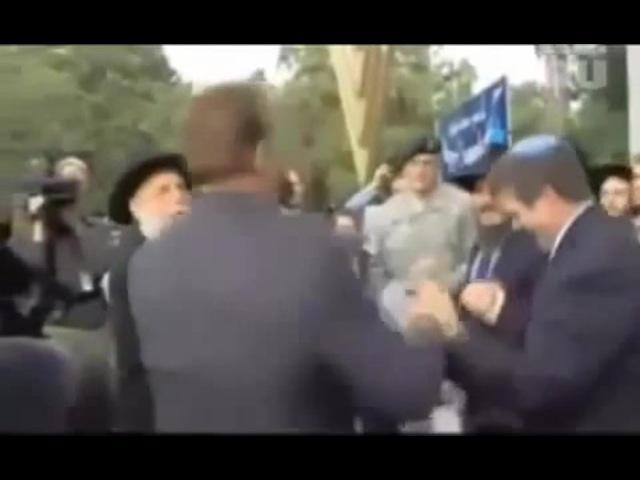 Арнольд Шварценеггер танцует Хава Нагилу с евреями · coub, коуб