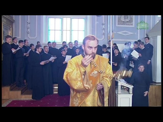 Всенощное бдение из храма апостола и евангелиста Иоанна Богослова СПбДА