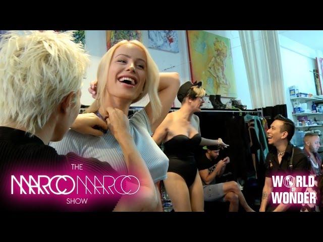 MarcoMarcoShow - Gigi Gorgeous, Willam Belli, and Manila Luzon Wardrobe Fitting