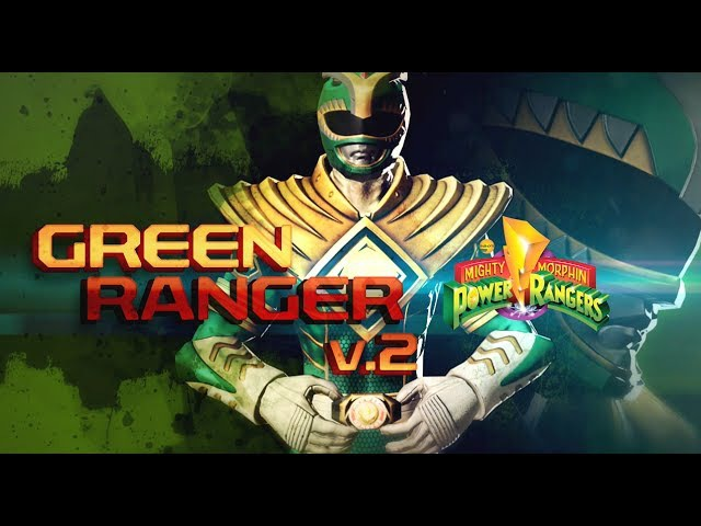 Power Rangers: Legacy Wars MMPR Green Ranger v2 (Moveset)