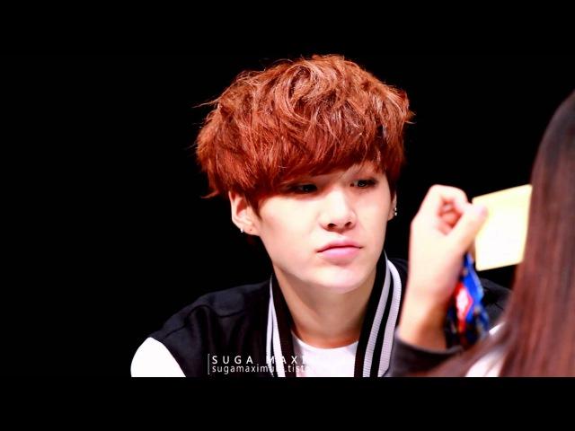 131009 강남 방탄소년단 팬사인회 슈가 BTS SUGA :: Lover boy