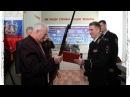 Генерал Кузьмин передал музею ОВД Дятьковского района модель трехлинейной винт