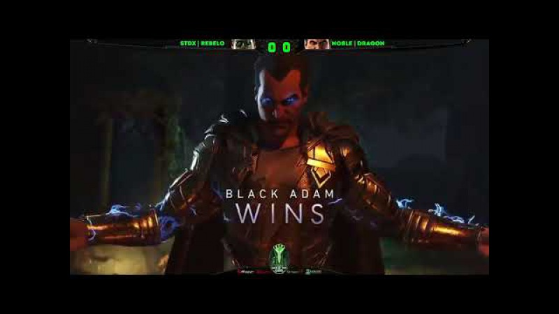Injustice 2 War Of The Gods Week 8 Top 8 ft Semiij, Sonicfox, Dragon and more