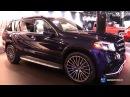 2017 Mercedes AMG GLS Class GLS 63 - Exterior and Interior Walkaround - 2016 LA Auto Show