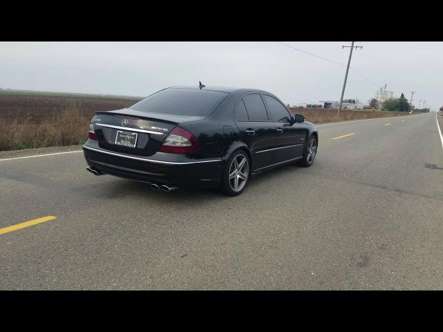 W211 mercedes e63 amg resonator delete exhaust
