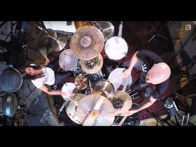 Helen De La Rosa Yogev Gabay - Popcorn (Drum Set Duo)