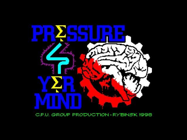 PRESSURE by CPU [ zx spectrum demo ]