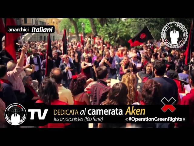 Anonymous Gli Anarchici Dedicata Al Camerata Aken