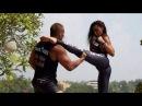 Чудо Женщина Галь Гадот учит драться Конана RUS SUB