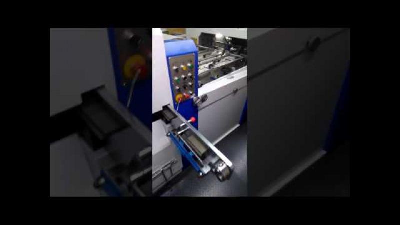 Автоматический пресс для вырубки JMD SL-800TS с секцией удаления облоя