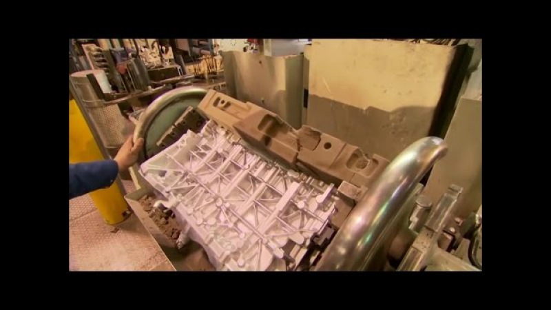 Точное литье алюминия. Производство блоков цилиндров
