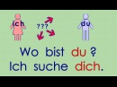 Deutsch lernen Grammatik 13: mich - dich - den - einen (Akkusativ)