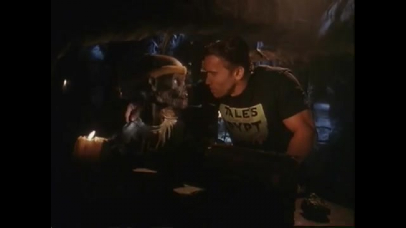 Schwarzenegger on Tales from the Crypt
