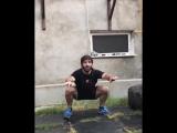 Давид Хачатрян - кроссфит тренировка