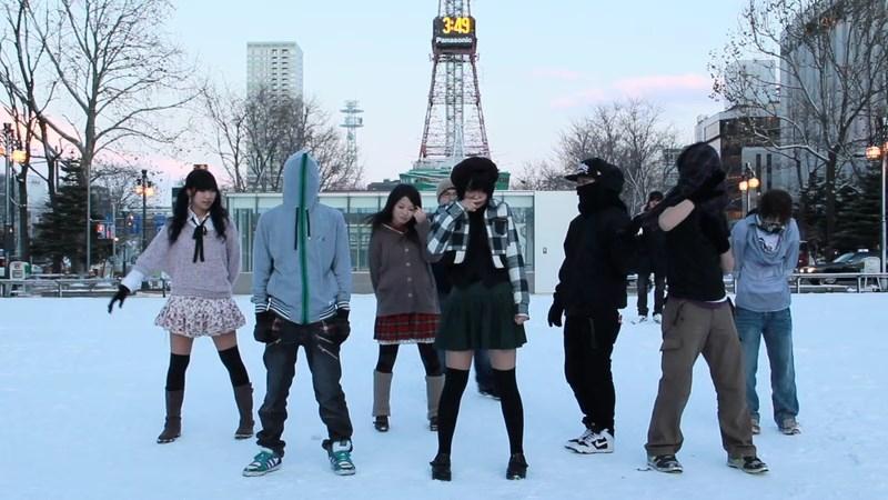 北海道に来てZIGG-ZAGG踊ってみたらやっぱりGAKU-BURUな件 sm16474543