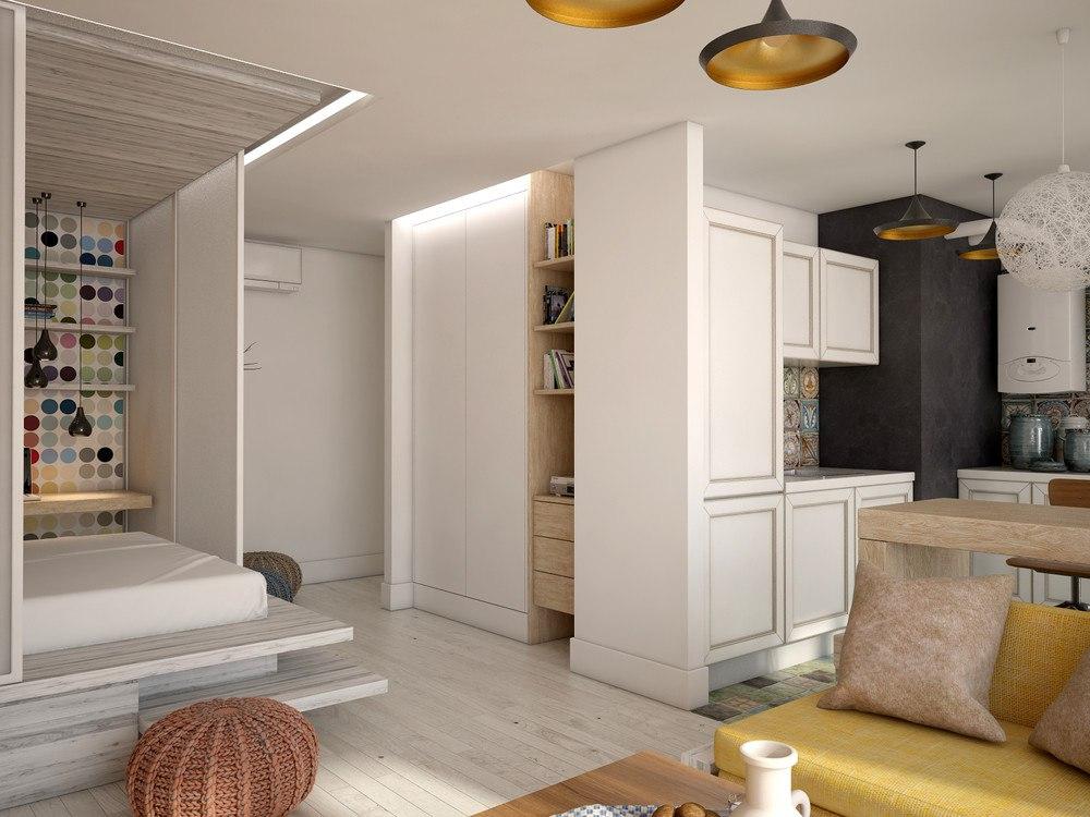 Проект квартиры 48 м.