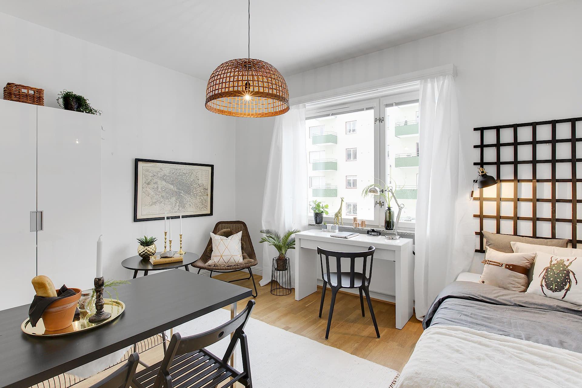 Маленькая квартира-студия 19,5 м.
