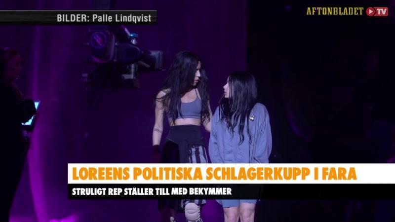 Loreens politiska kupp i fara i Melodifestivalen Aftonbladet-1