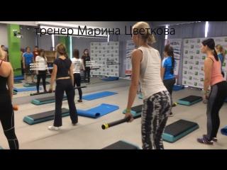 Групповые занятия в фитнес-клубе SISTEMA