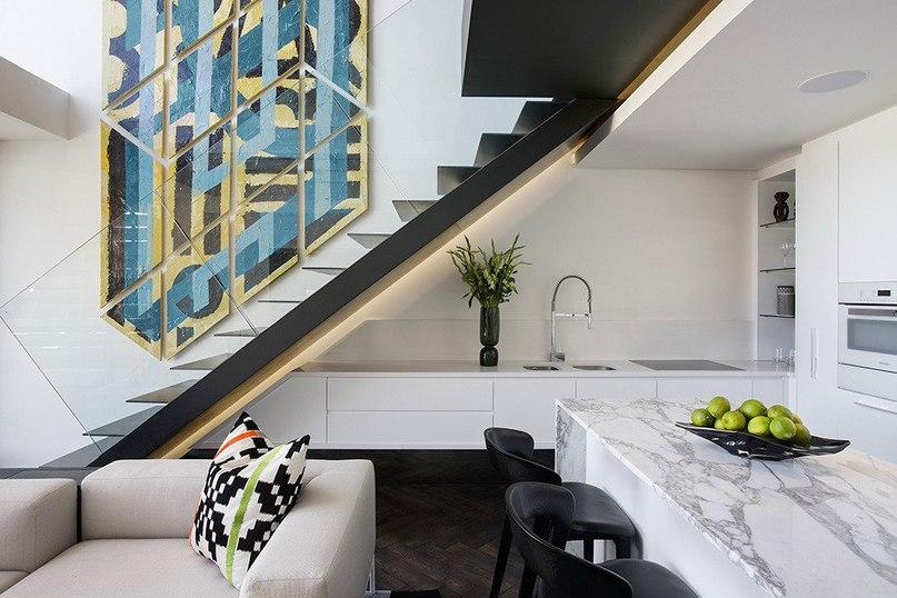 Стильные апартаменты в Кейптауне от студии SAOTA  Творческая