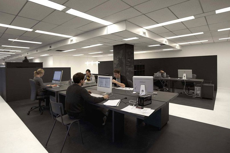 Офис рекламного агентства Gummo в Амстердаме  Рекламное агентство