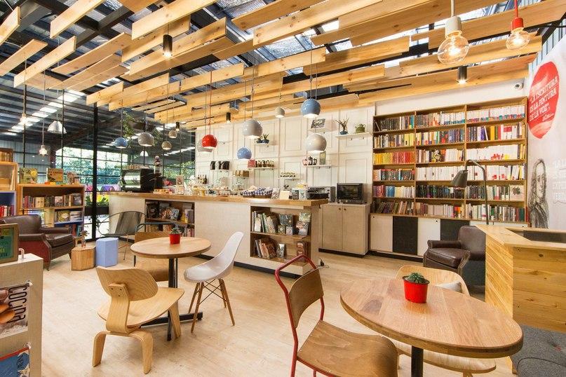 Книжный магазин и кафе 9 ¾ в