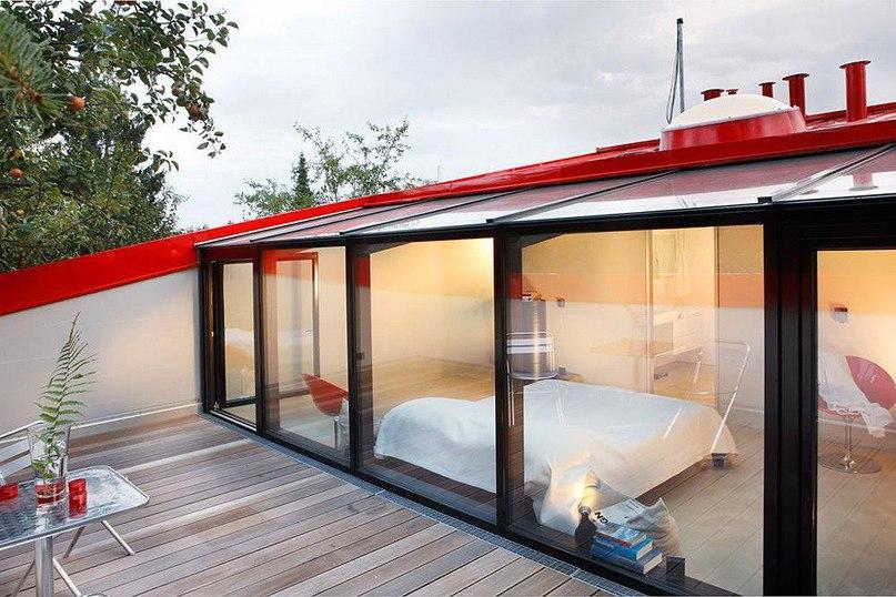 Красный дом в Германии от Architekturbureau Jakob
