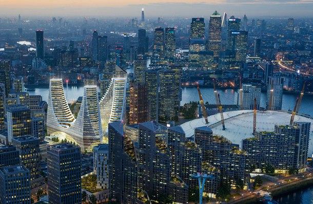 Испанский архитектор Сантьяго Калатрава представил свой первый