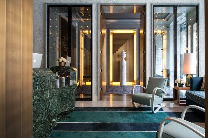 Роскошный отель Nolinski в центре Парижа