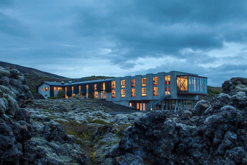 Экоотель Ion Luxury Adventure  Архитекторы команды Minarc спроектировали