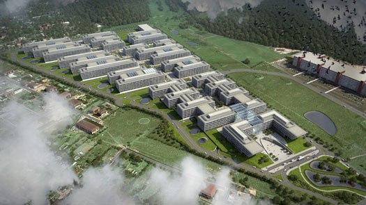 Чешский девелопер построит на территории