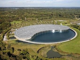 База McLaren получила архитектурную премию   Производственный центр
