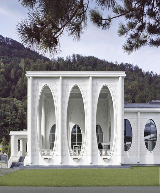 В Швейцарии открылся физиотерапевтический комплекс термальных ванн.