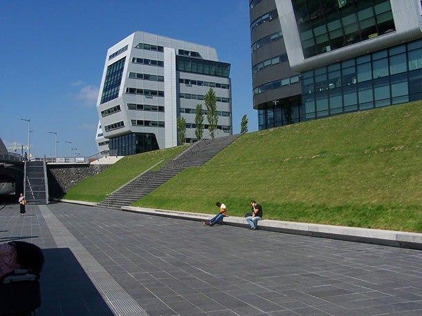Обзор современной архитектуры Амстердама…